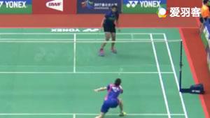 Na Yeong KVS阿丽吉塔 2017中国台北大师赛 女单1/16决赛视频