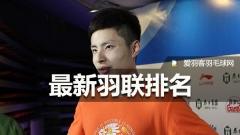 最新排名丨国羽占据混双、男双世界第一