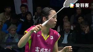 川上纱惠奈VS下田夏美 2017中国台北大师赛 女单半决赛视频