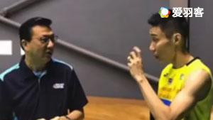为了打业余比赛,他竟找李宗伟当陪练!