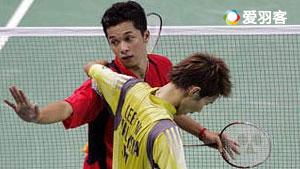 陶菲克VS李宗伟 2005羽毛球世锦赛 男单半决赛视频