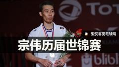 9届世锦赛夺4个亚军,李宗伟的悲情谁懂?