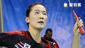 李绍希/申升瓒VS松本真由/若菜永原 2017美国公开赛 女双决赛视频