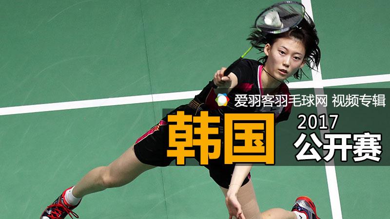 2017年韓國羽毛球公開賽