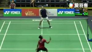 萨米尔VS杜尔金雅克 2017美国公开赛 男单1/8决赛视频