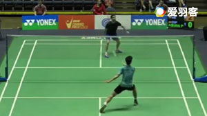 阿维安VS黎德鸿 2017美国公开赛 男单1/8决赛明仕亚洲官网