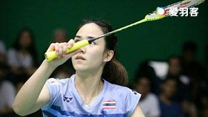 磋楚沃VS金达汶 2017泰国全国锦标赛 女单半决赛视频