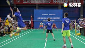 国羽3v3表演赛丨双塔变身何冰娇左右护法