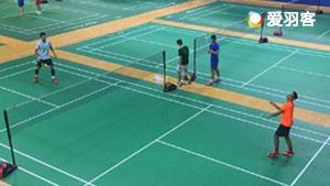 【独家】国羽队内对抗赛,林丹2比0战胜谌龙
