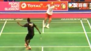 奥利维拉VS马吕斯迈尔 2017羽毛球世锦赛 男单资格赛视频
