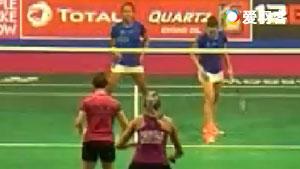 拉菲尔/安妮VS丽贝卡·芬德利/凯特琳·普林格尔 2017羽毛球世锦赛 女双资格赛视频
