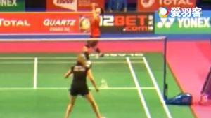 白驭珀VS维尼奥 2017羽毛球世锦赛 女单资格赛视频