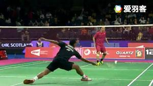 苏吉亚托VS胡赟 2017羽毛球世锦赛 男单资格赛视频