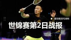 世锦赛第2日丨李宗伟24-22惊险扳回一局