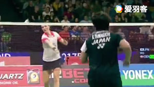 山口茜VS杰克斯菲德 2017羽毛球世锦赛 女单资格赛视频
