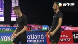 坎贝尔/麦克休VS阿伦茨/鲁本 2017羽毛球世锦赛 男双资格赛视频