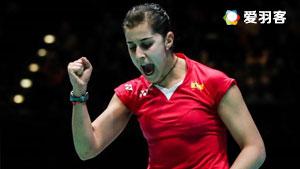 马琳VS叶姵延 2017羽毛球世锦赛 女单1/16决赛视频
