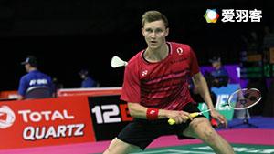 安赛龙VS伍家朗 2017羽毛球世锦赛 男单1/8决赛视频
