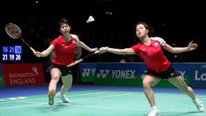 福岛由纪/广田彩花VS尤尔/佩蒂森 2017羽毛球世锦赛 女双半决赛视频