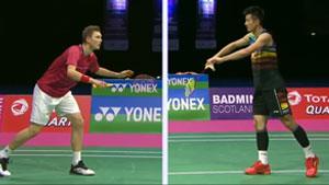 安赛龙VS谌龙 2017羽毛球世锦赛 男单半决赛视频