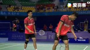 王斯杰/郑思维VS谌卓夫/樊秋月 2017全运会羽毛球 男团小组赛视频