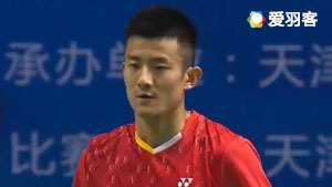 谌龙VS任朋嶓 2017全运会羽毛球 男团小组赛视频