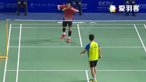 陆光祖VS谌龙 2017全运会羽毛球 男单1/8决赛视频