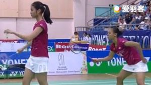 伽芮恰伦/穆恩旺VS哈里斯/普拉蒂普塔 2017越南公开赛 女双决赛视频