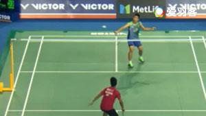 金廷VS李东根 2017韩国公开赛 男单1/16决赛视频