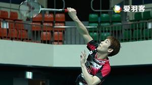 孙完虎VS萨米尔 2017韩国公开赛 男单1/4决赛视频