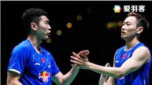 刘成/张楠VS费尔纳迪/苏卡穆约 2017韩国公开赛 男双1/4决赛视频