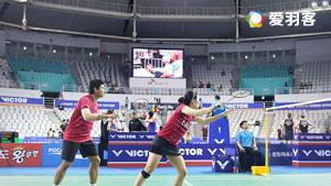 乔丹/苏珊托VS塞德尔/琳达 2017韩国公开赛 混双半决赛明仕亚洲官网