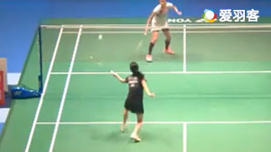 大堀彩VS布桑兰 2017日本公开赛 女单1/16决赛视频