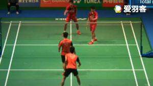 王耀新/张御宇VS苏帕克/帕金 2017日本公开赛 男双1/16决赛视频