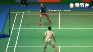 石宇奇VS利弗德斯 2017日本公开赛 男单1/16决赛视频