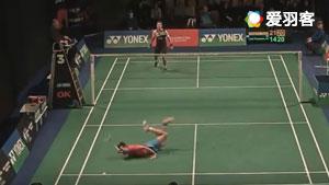 笑死不偿命!盘点羽毛球比赛失误搞笑瞬间