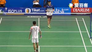 高政泽VS林俊易 2017世界青年羽毛球锦标赛 男单小组赛明仕亚洲官网
