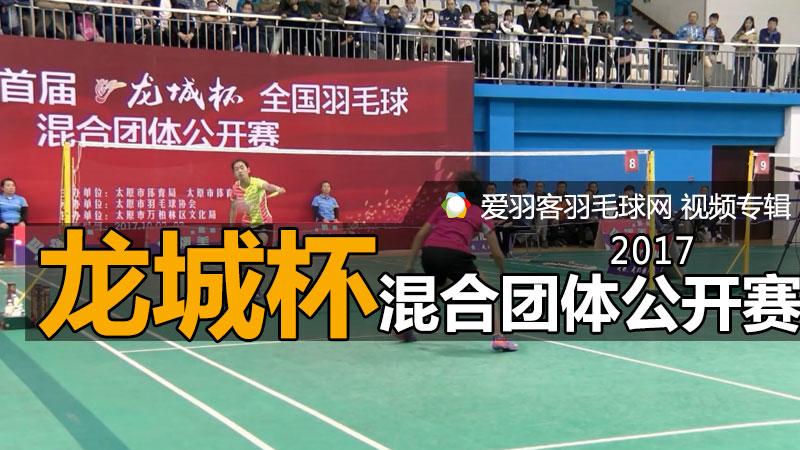 2017年龙城杯全国羽毛球混合团体公开赛