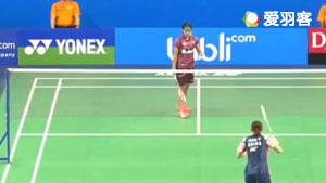 韩悦VS玛莉丝卡 2017世界青年羽毛球锦标赛 混合团体1/4决赛视频