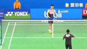 白玉鹏VS加吉拉·皮利朗 2017世界青年羽毛球锦标赛 混合团体1/4决赛视频