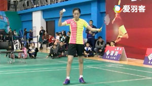 惠夕蕊VS郭睿怡 2017龙城杯全国混合团体公开赛 女单决赛视频
