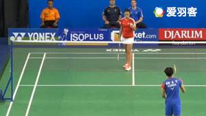 安洗莹VS休特 2017世界青年羽毛球锦标赛 混合团体1/4决赛视频