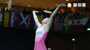 张蓓雯VS李文珊 2017荷兰公开赛 女单决赛视频