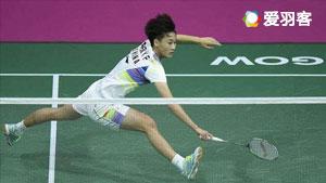 陈雨菲VS泽奇里 2017丹麦公开赛 女单1/8决赛视频