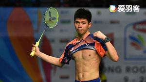 5分钟看完世青赛决赛,李宗伟接班人、泰国天才少年疯狂对攻!