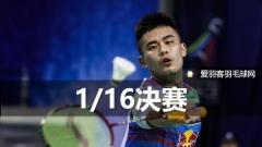 碧特博格1/16决赛丨国羽小将未丢一场,乔斌陈晓欣晋级