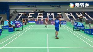 พีรณัฐ บุญVSฐิติ โกกิล 2017泰国羽毛球学院挑战赛 男单决赛视频