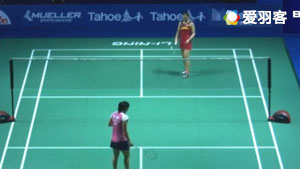 内维尔VS张蓓雯 2017中国公开赛 女单1/16决赛365bet体育在线