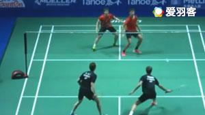 石宇奇VS欧斯夫 2017中国公开赛 男单1/16决赛视频