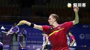 安赛龙VS伍家朗 2017中国公开赛 男单半决赛视频